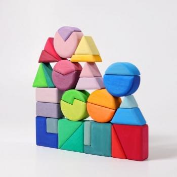 Grimm´s 10160 Bauspiel Dreieck - Viereck - Kreis