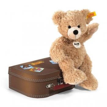 Steiff 111471 Fynn Teddybär im Koffer