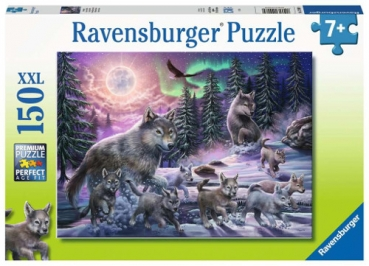Ravensburger 12908 Kinderpuzzle - Nordwölfe