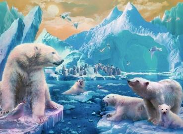 Ravensburger 12947 Kinderpuzzle - Im Reich der Eisbären