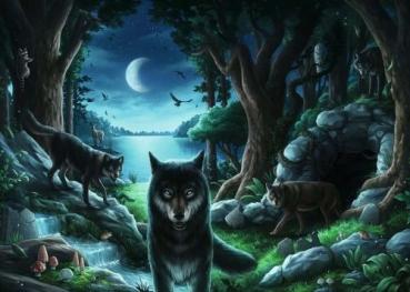 Ravensburger 15028 Puzzle EXIT 7 - Wolfsgeschichten