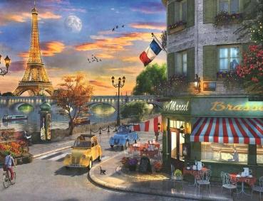 Ravensburger 16716 Puzzle - Romantische Abendstunde in Paris