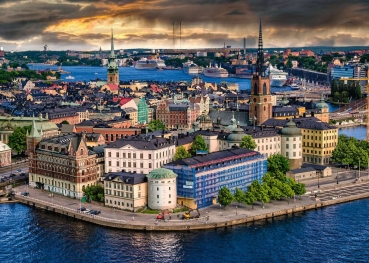 Ravensburger 16742 Puzzle - Stockholm, Schweden