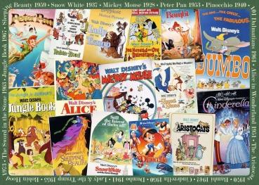 Ravensburger 19874 Puzzle - Disney Vintage Movie Poster
