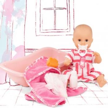 Götz 2153143 Badepuppe - Sleepy Aquini Mädchen Stripe Vibes