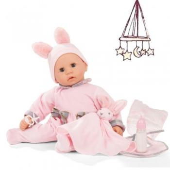 Götz 2161152 Babypuppe - Cookie Care Pastellino mit Funktion