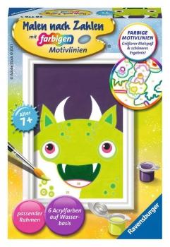 Ravensburger 28776 Malen nach Zahlen - Freches Monster