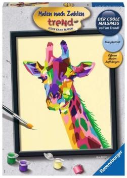 Ravensburger 28926 Malen nach Zahlen - Bunte Giraffe