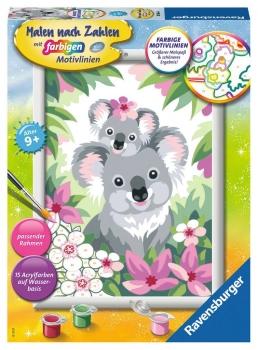 Ravensburger 28984 Malen nach Zahlen - Süße Koalas
