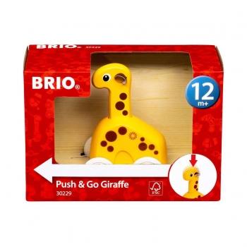 BRIO 30229 Push & Go Giraffe