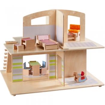HABA 305638 Little Friends – Puppenhaus Stadtvilla