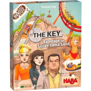 HABA 305855 Familienspiel - The Key – Sabotage im Lucky Lama Land