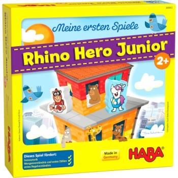 HABA 305912 Meine ersten Spiele - Rhino Hero Junior