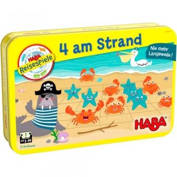 HABA 306040 Reisespiel - 4 am Strand