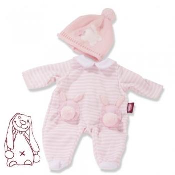Götz 3403250 Bekleidung für Babypuppen - Babykombi Häschen Gr. S