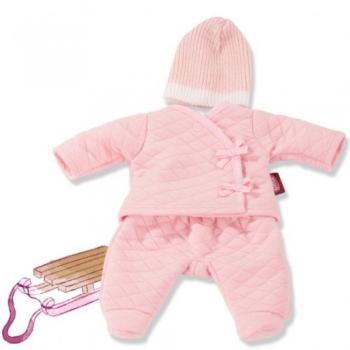 Götz 3403251 Bekleidung für Babypuppen - Babyanzug Just Pink Gr. S