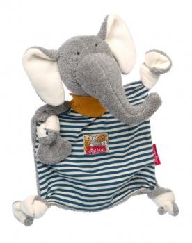 Sigikid 39378 Schnuffeltuch - Elefant