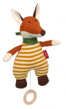 Sigikid 39487 Baby Strick-Spieluhr Fuchs