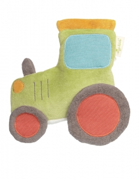 Sigikid 39531 Kirschkernkissen - Traktor Green