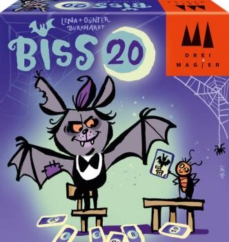Drei Magier® 40890 Familienkartenspiel - BISS 20