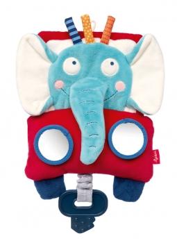 Sigikid 42516 Aktiv-Spieltuch Elefant