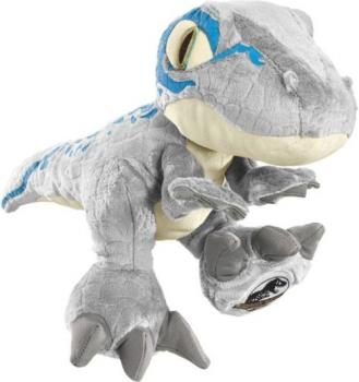 Schmidt-Spiele 42753 Jurassic World - Blue, 30 cm