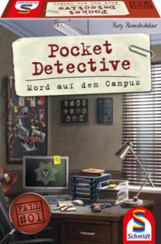 Schmidt-Spiele 49377 Pocket Detective – Mord auf dem Campus