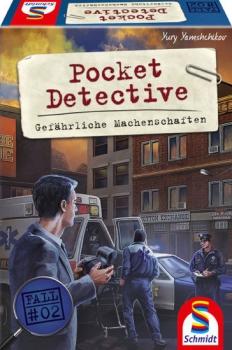 Schmidt-Spiele 49378 Pocket Detective – Gefährliche Machenschaften