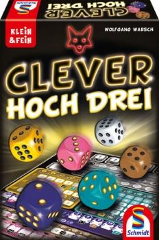 Schmidt-Spiele 49384 Familienspiel - Clever hoch Drei