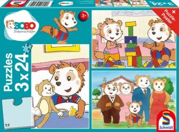 Schmidt-Spiele 56414 Kinderpuzzle - Freunde und Familie