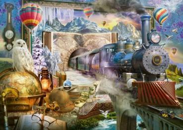 Schmidt-Spiele 58964 Puzzle 1000 Teile - Magische Reise