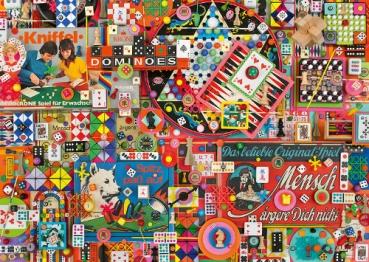 Schmidt-Spiele 59900 Puzzle Shelley Davies - Vintage Gesellschaftsspiele