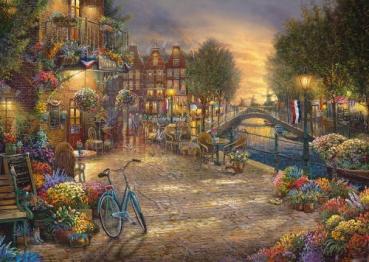 Schmidt-Spiele 59917 Puzzle Thomas Kinkade Studios - Amsterdam