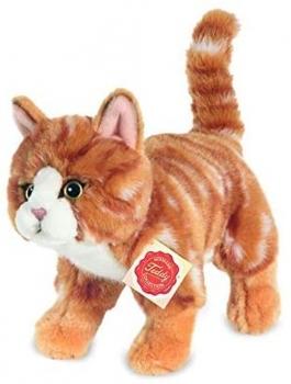 Teddy Hermann 90682 Kucheltier - Katze rot getigert